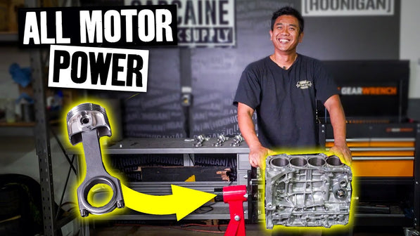 10,000rpm K24 Build: Making Power With Compression 101
