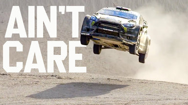 Big Air, Ain't Care - Ken Block Goes Full Send to Make a Limited Edition Print