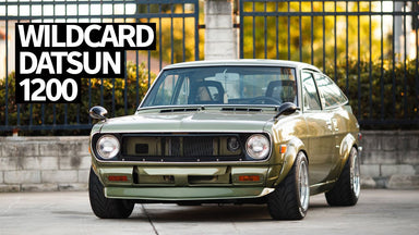 Team Wildcards '72 Datsun 1200 v110: a Racing-Inspired JDM Classic