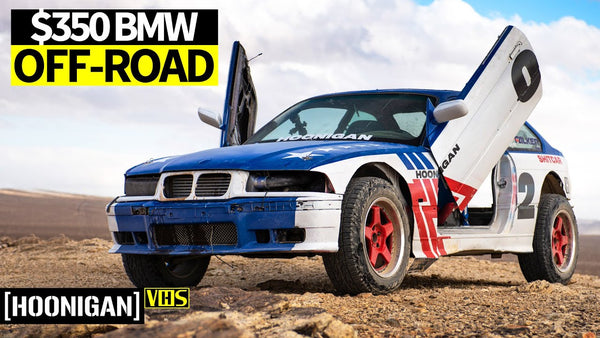 Sh*tcar Goes Safari Spec! Our Infamous $350 BMW Gets Chopped Up and Off-Road Ready