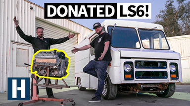 Quest for a 400HP Merch Store on Wheels: Our Van Gets a Donated V8!