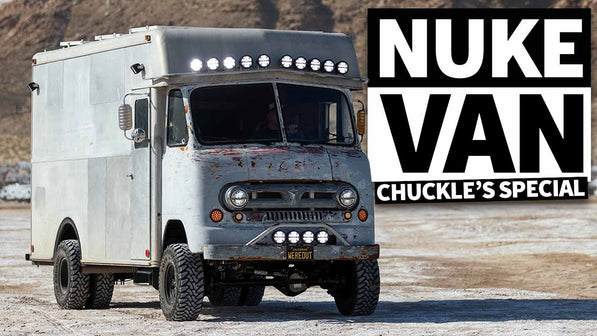 "1 of 1 ""Nuke Van"" AKA the Chuckles Garage Ultimate Off-Road Expedition Vehicle"