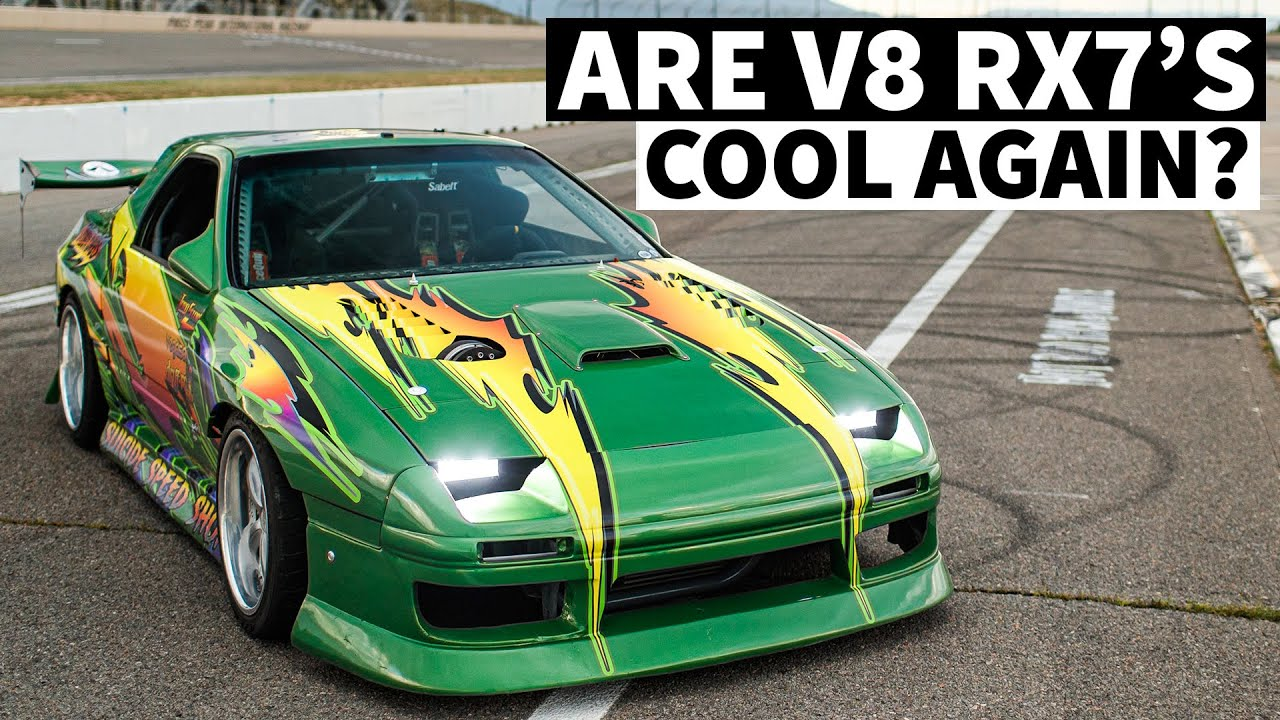 V8s Are ok With an AK47 Rev Limiter. Spooky Andy's LS Swapped FC RX-7
