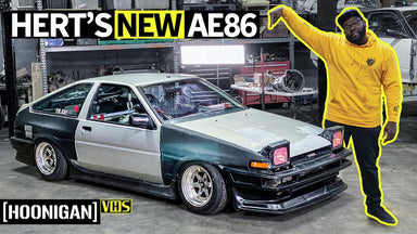 "This ""New"" '85 Toyota Corolla is the Best Worst Idea Ever: Hert Gets an AE86!"