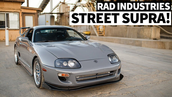 The Perfect Supra Customer Build? Rad Industries Built 93.5 Single Turbo MKIV (With 179,000 miles!)