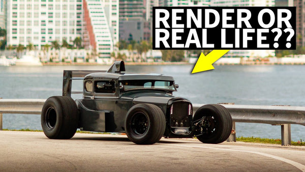 A Formula 1 Styled '32 Ford?? Honda S2000 Powered Beck Kustoms F132