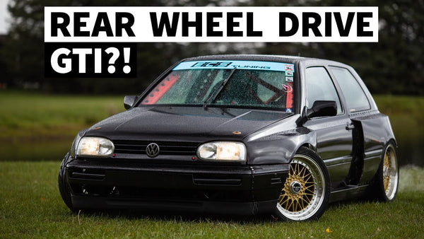 BMW V8 Powered, RWD Swapped, Rear-Radiator'd Volkswagen Mk3 Golf GTI