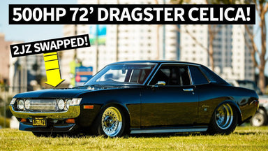 JDM Dragster: 2JZ Powered and Tubbed '72 Celica and '78 Cressida