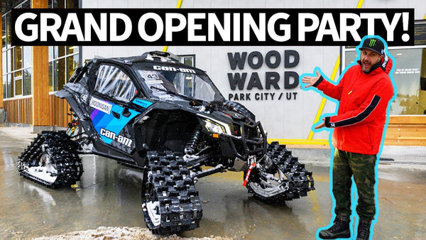 Ken Block Goes to Woodward Park City Grand Opening! Biggest Action Sports Fantasyland in the World??