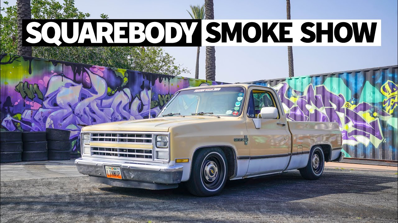 11 Second Chevy C10 Square Body Drove From Georgia To Party Hoonigan
