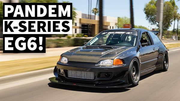 Sequential Shifting, Pandem Widebody, Boosted K24 Powered EG Civic Might be our Favorite Honda Ever