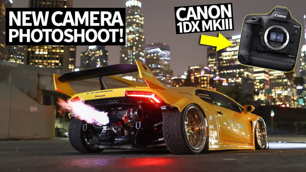 All-new Canon 1DX Mark III: Twin Turbo Lambo Photoshoot With Canon's Unreleased Camera!
