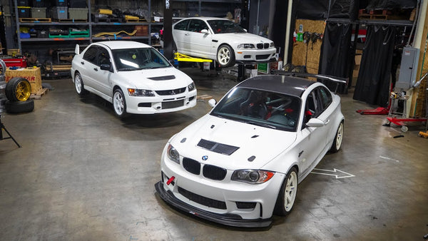"BMW ""1M"", Evo, and M3 Trackday Prep With the Boys! 621 Golden Ep.004"