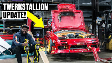 Twerkstallion Mazda RX-7 Gets Prepped for Drift Week: UnPros Garage Update!