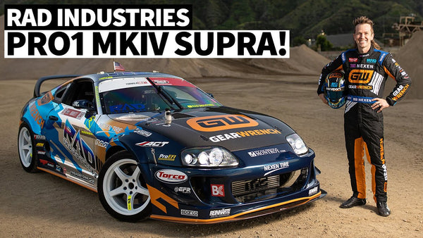 Rad Dan's 3.4l 1000hp MKIV Supra: 231,000 Mile Competition Car!