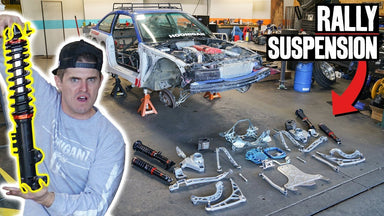 $350 E36 Gets FULL Rally Suspension Setup / PART 3 of 10 #road2sickcar