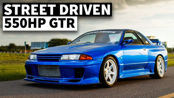 Dream Spec Daily Driver: 550hp Nissan R32 GT-R Built for the Streets