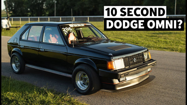 10 second, 577hp Dodge Omni GLH Was Never Meant to go This Fast