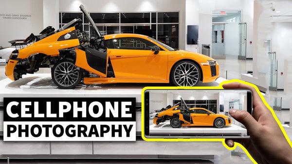 How to Get Cellphone Banger Photos: Car Photography Secrets With Larry Chen
