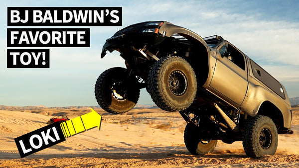 BJ Baldwin's LOKI: The Sickest Prerunner ever? 434ci LS7 Powered Chevy K5 Blazer