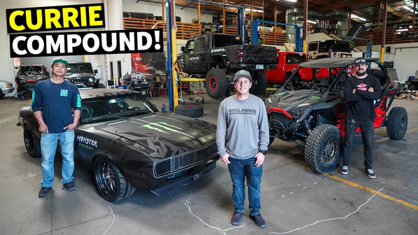Thrashing A Backyard Racetrack: Casey Currie's Compound is the Stuff of Dreams