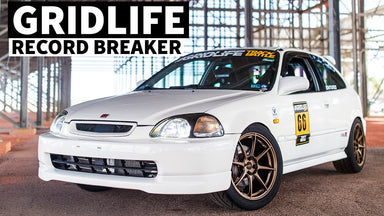 2,300lb K24 Swapped Civic Time Attack Car is a Lightweight Time Attack Machine