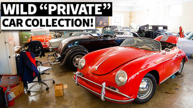 LA's Most Eclectic Private Car Collection?