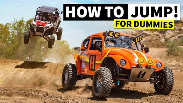 We Learn How to Properly Jump a RZR… and How NOT to Jump a RZR