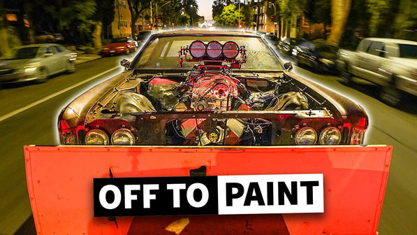 Donk Goes Off to Paint! But First, We Fix our Exhaust Problems