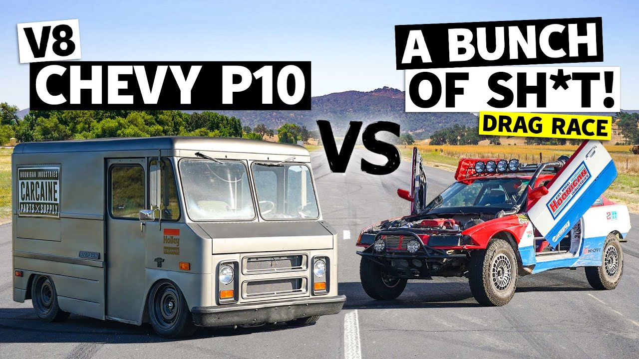 Our 400hp Chevy Merch Van vs. All. It's Faster Than We Thought!!