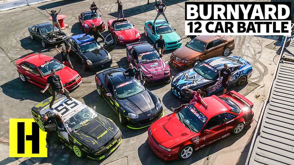 12-Car Burnyard Battle: Drift Week 2020 FINALE!