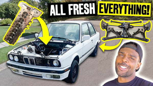 E36 Refresh Chronicles, aka Subframe Bushing Nightmares and Head Gasket Seating