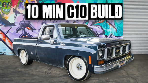 Building a 600hp '74 Chevy C10 Chopper Hauler - in 10 Minutes!