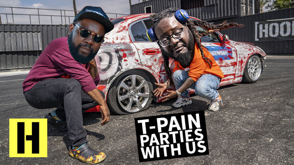 T-Pain's Drift Party in our Infiniti G35 Yard Car!