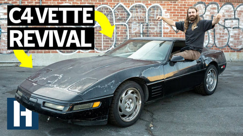 Scrapyard C4 Corvette C4 Gets Rescued + Custom Cut Door Panels!