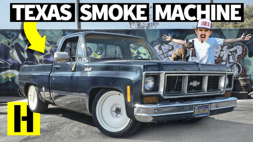 Chopper Hauler Chevy C10 Truck Project Gets ROWDY in the Yard!
