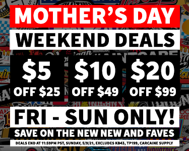 Mother's Day Weekend Savings