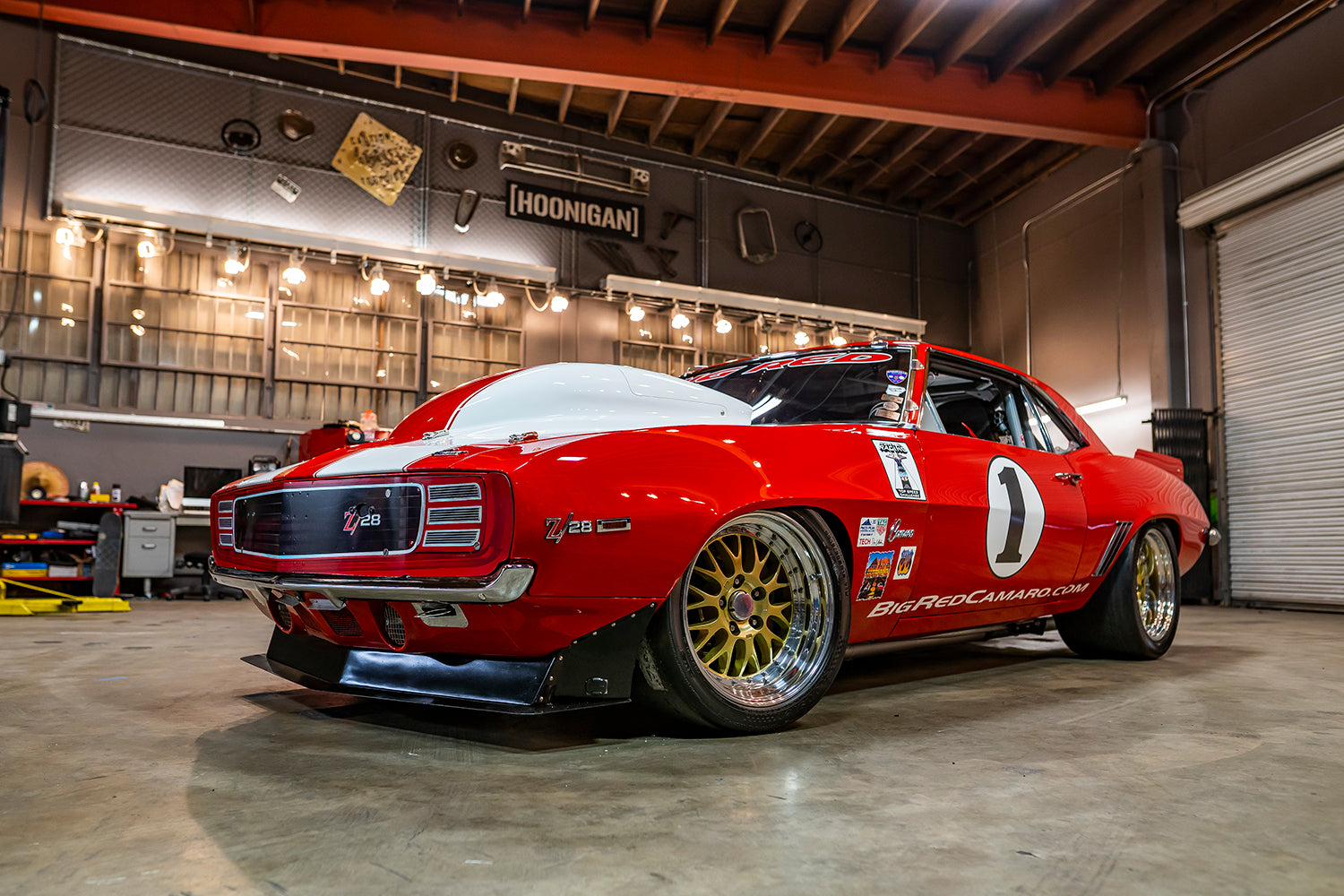 2000hp 251mph Big Red 1969 Camaro The Greatest Pro Touring Car Ever B Hoonigan