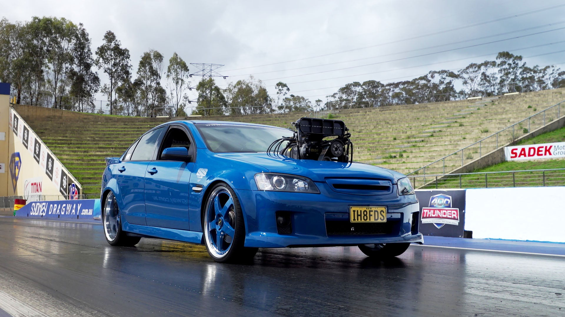 1000hp Big Blower Street Car Holden Ve Commodore Burnout