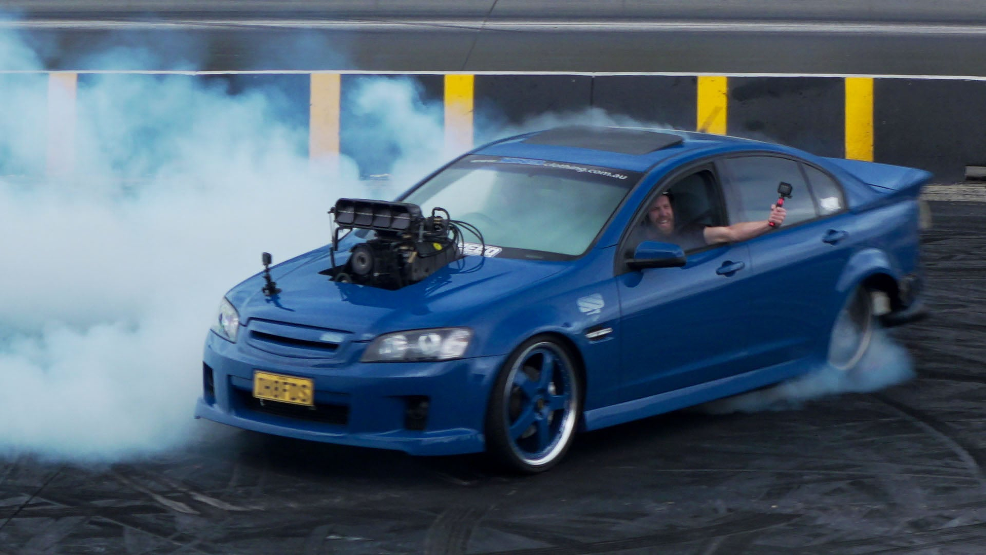 Build A BMW >> 1000hp Big Blower Street Car?? Holden VE Commodore Burnout Car Sings t - Hoonigan