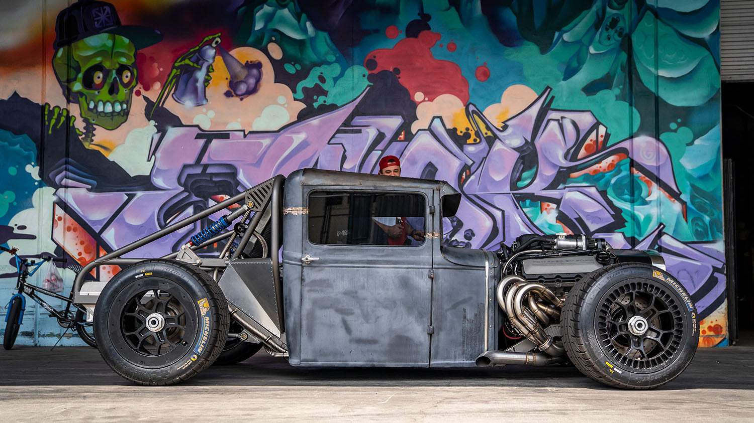 800hp Coyote Powered Hot Rod    on LeMans Wheels?? Mike