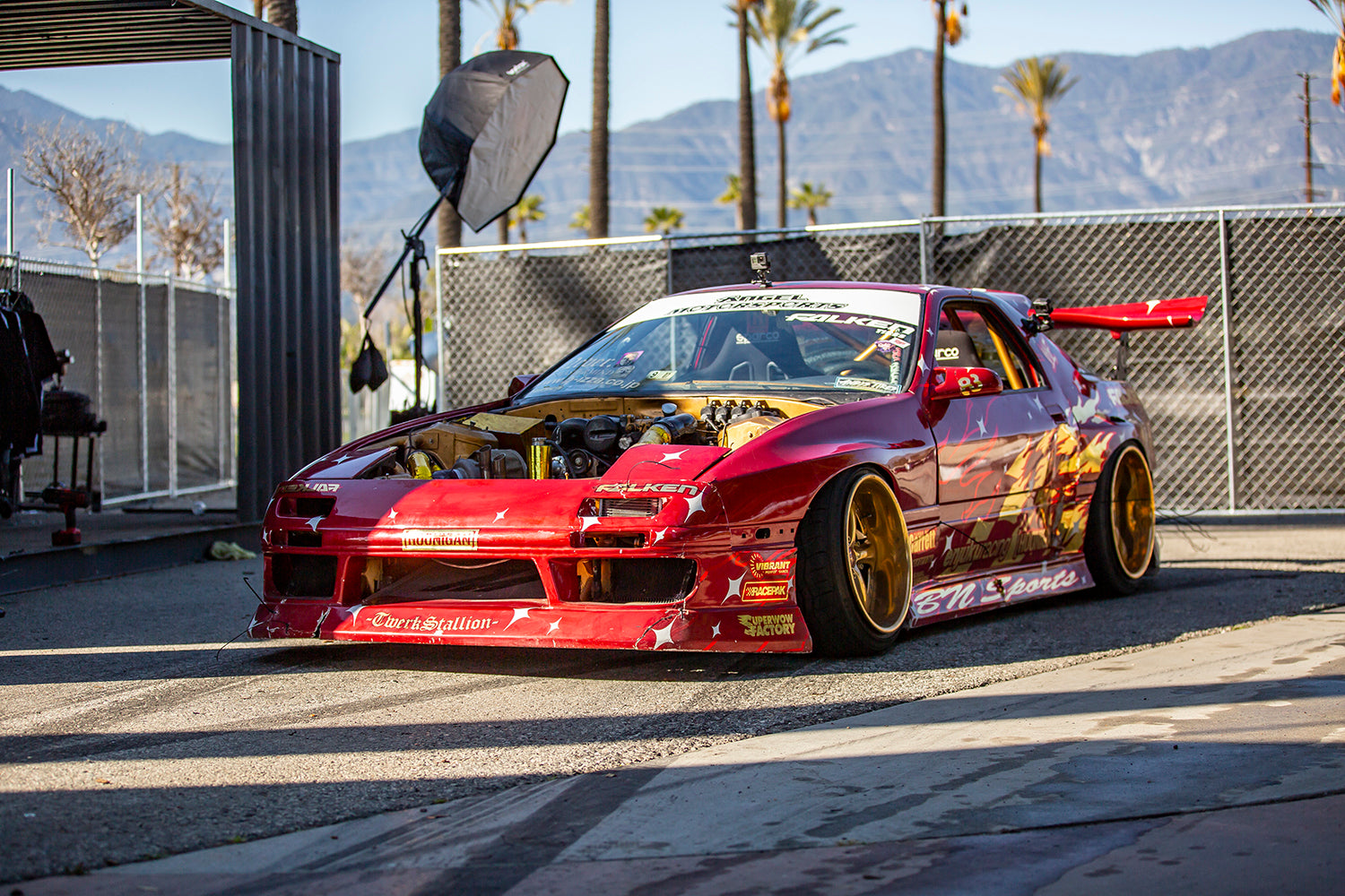 What Is A Hoonigan >> Fire Everywhere: Hert's First Burnyard Shreds in ...