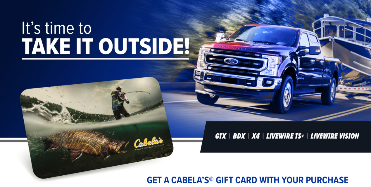 Get a Cabela's® Gift Card with Qualifying SCT Tuner Purchase
