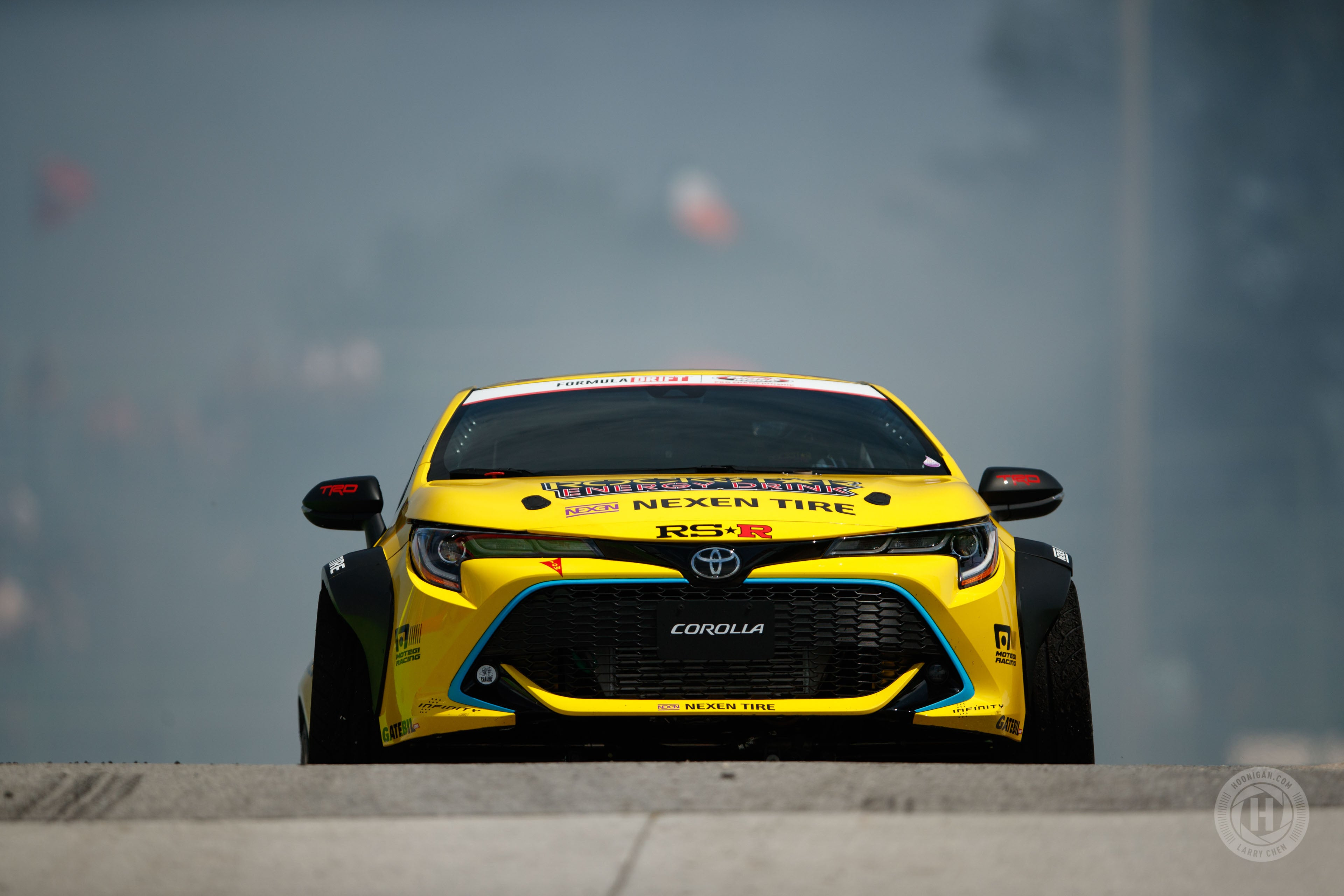 Breaking Tradition Fredric Aasbos 2019 Toyota Corolla Hoonigan Supra Trd Racing A 1998 Stephan Says This Is The Sixth Generation Steering Design From All Of Drift Cars He Has Built And Capable 68 Degrees