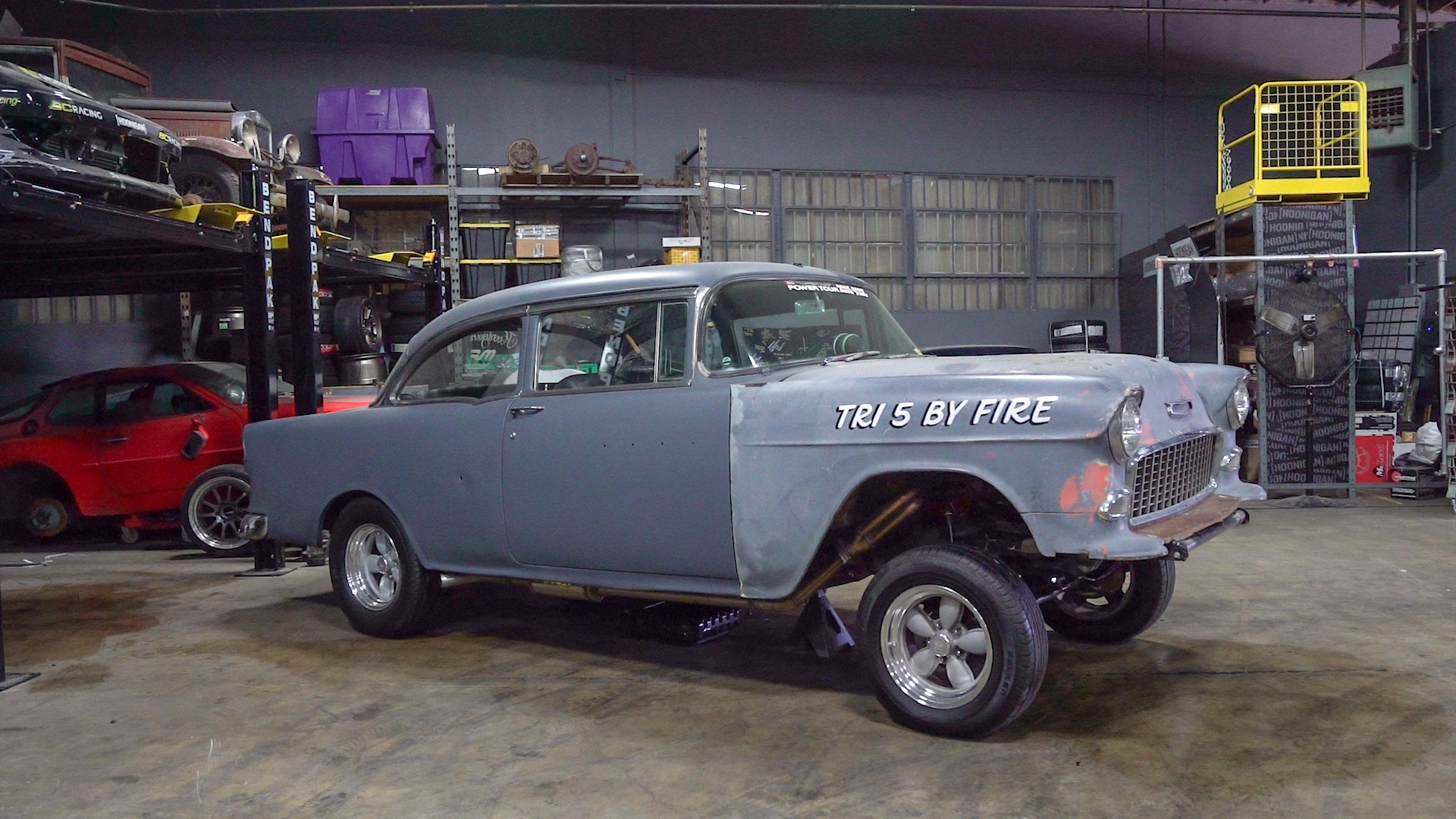 Building a 9 Second Street Car - New Project 1955 Gasser