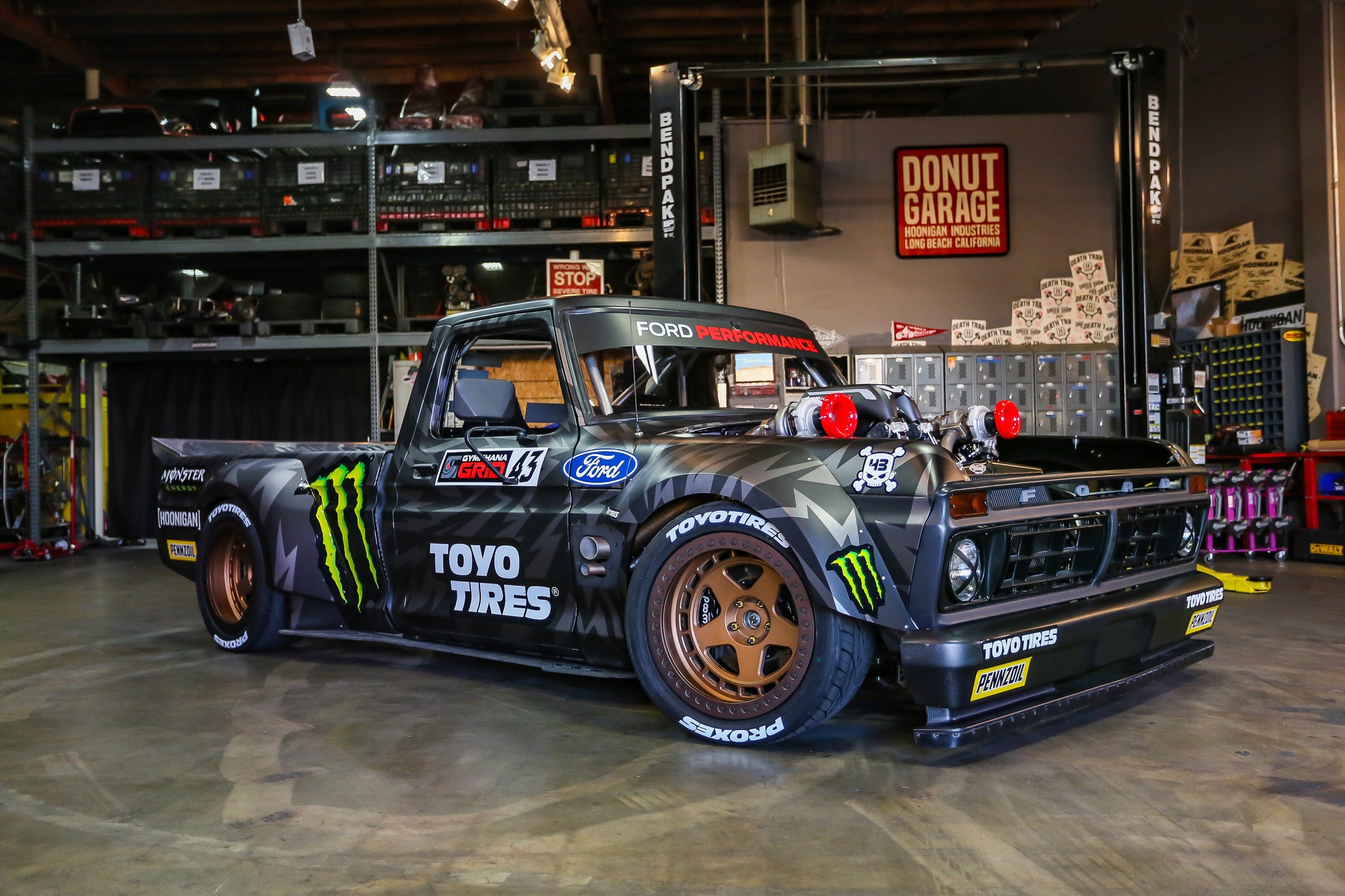 Ken Block's Hoonitruck: Twin Turbo, AWD, 914hp, and Ready ...