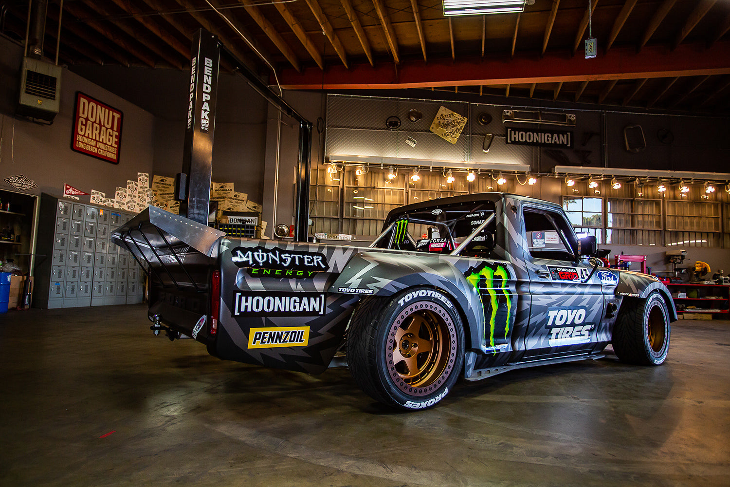 2018 Ford F150 Colors >> Ken Block's Hoonitruck: Twin Turbo, AWD, 914hp, and Ready ...