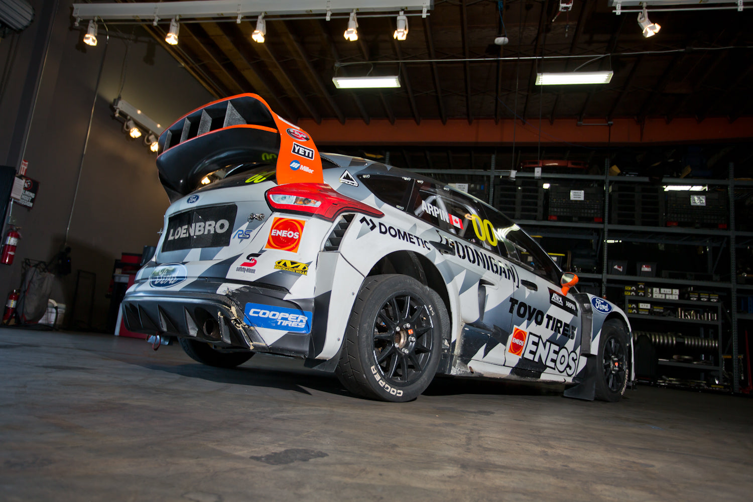 Ford Focus Awd >> 0 60mph In Under 2 Seconds Under The Hood Of The 600hp Awd Ford Focus Rs Rx Rallycross Car