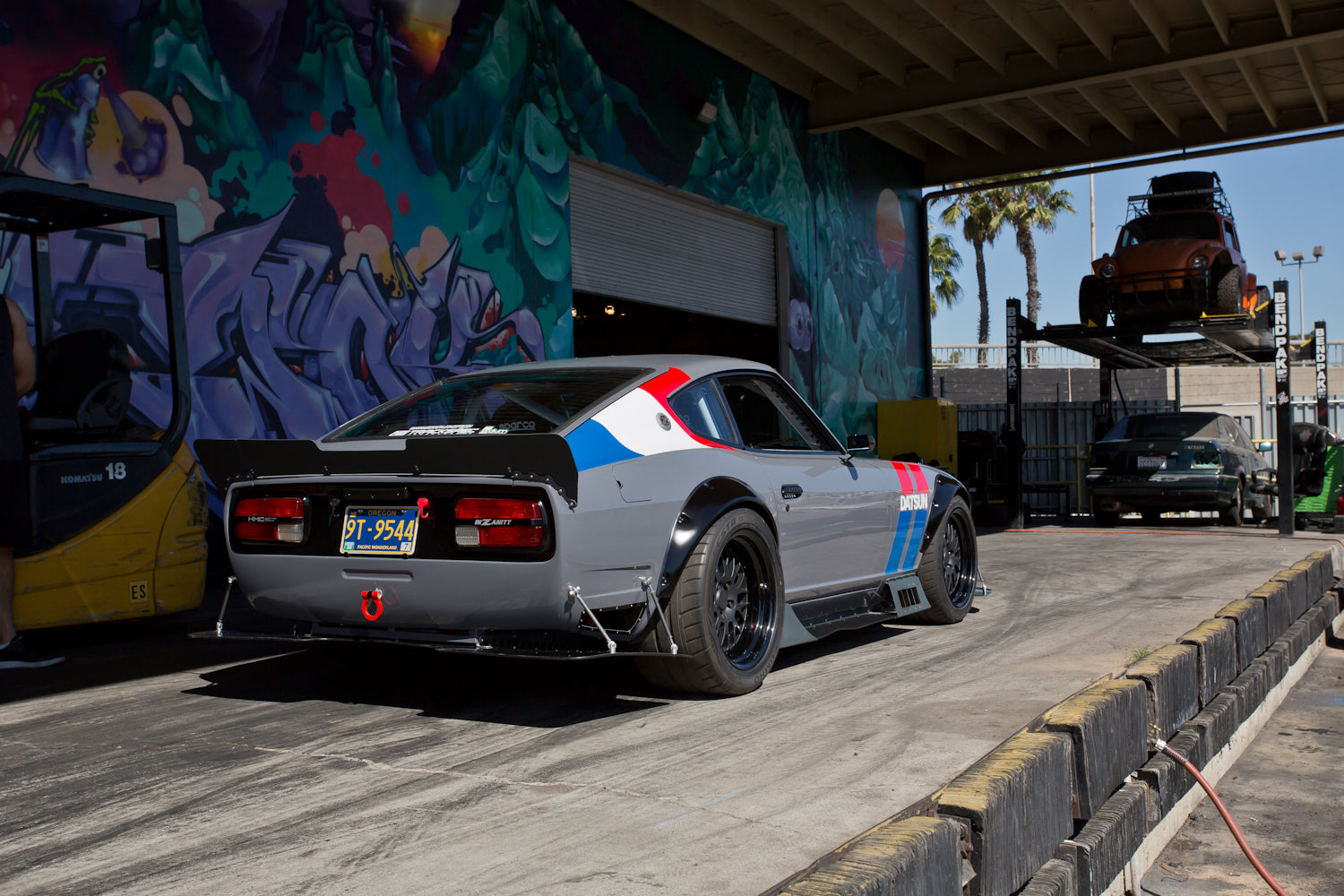 Build A Truck >> Frankenstein V8 240z Build: 5 year Track/Street Project is ...