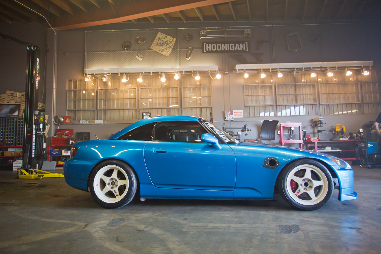 Twin Turbo'd and V6 Swapped S2000: Not your average S2K!! - Hoonigan